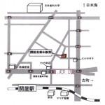 ショゼ金鉢山 周辺地図