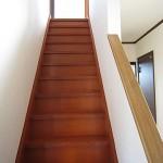 関屋田町貸家 B棟 階段